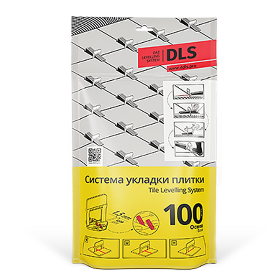 Система укладки и выравнивания плитки DLS СВП 100 Основ