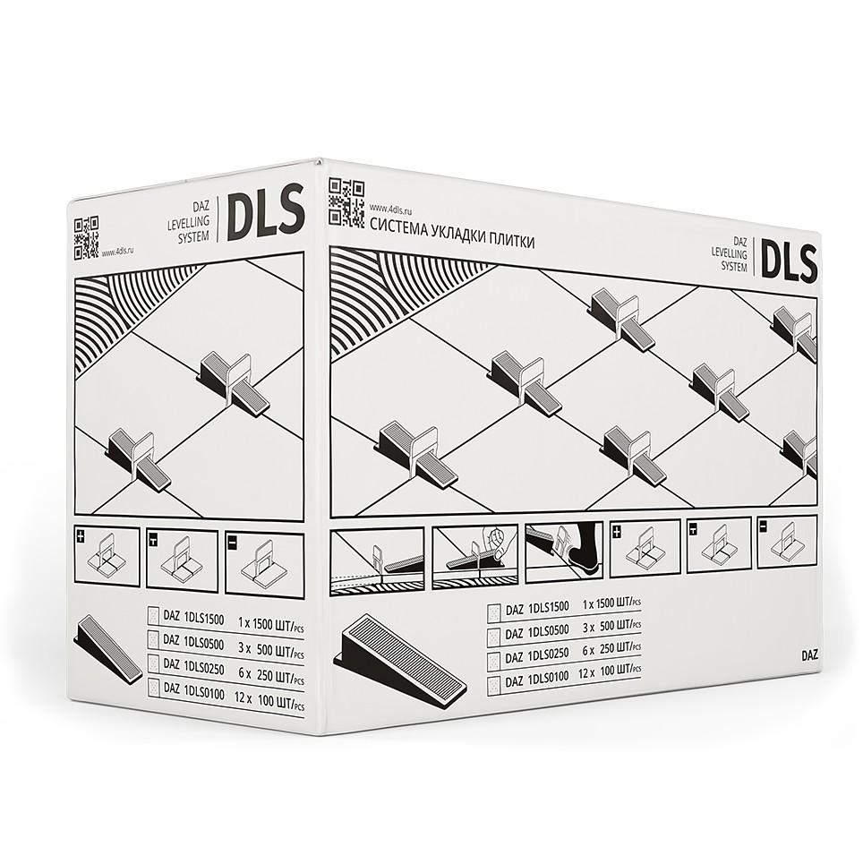 Система укладки и выравнивания плитки DLS СВП 100 Клин