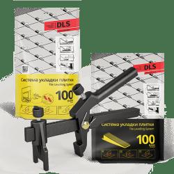 СВП комплект 100 основ - 100 клиньев - 1 зажим