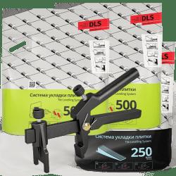 СВП комплект 1000 основ - 250 клиньев - 1 зажим
