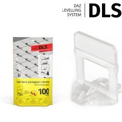 """Основы """"DLS"""" 1,5 мм (100 шт/уп; h 3-12 мм). Система Выравнивания Плитки - СВП."""
