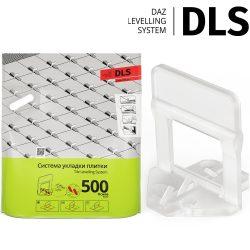 """Основы """"DLS"""" 1,5 мм (500 шт/уп; h 3-12 мм). Система Выравнивания Плитки - СВП."""