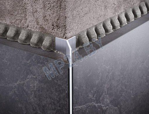 DAZ Алюминиевый анодированный тонкий профиль для плитки