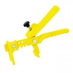 ЗАЖИМ ТМ, 1 шт. (Желтый -пластик). DLS / KAROFIT / ILS . Система Выравнивания Плитки - СВП.